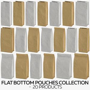3D flat pouches - 20