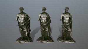 statue 1 3D