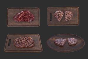 meat set 3D model