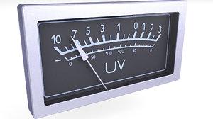 uv meter model