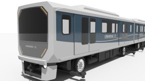automated people mover 3D model