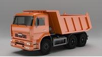 Kamaz 6520 Dumper Truck