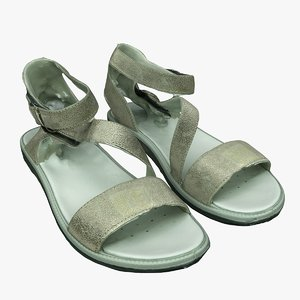 sandals shoes 3D