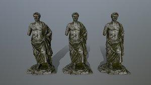 statue 3D
