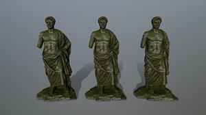 3D model statue 1