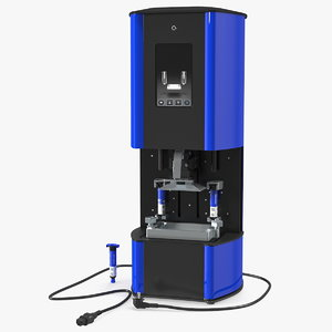 3D dental printer printed model
