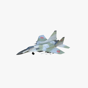 3D model mig-29m fulcrum