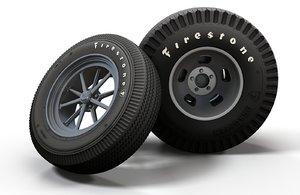 gasser wheels 3D