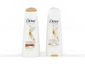 dove nutritive solutions shampoo 3D model