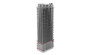 126 simcoe building exterior 3D