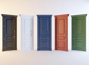 3D door pack 5 colors