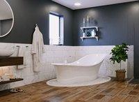 Modern 3d Bathroom Scene