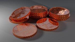 3D 5 coin azerbaijan azrbaycan