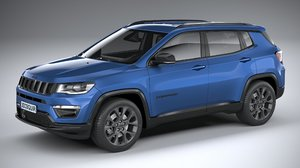 3D model jeep compass 2020