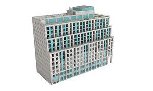 168 simcoe building exterior 3D model