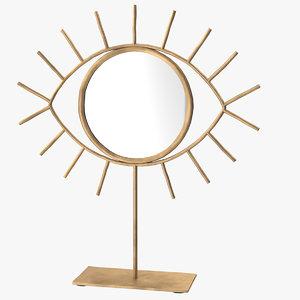 3D eye mirror