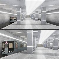 Subway Station 02