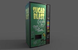 vending machine pbr 3D
