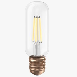 3D real light bulb