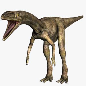 3D dinosaur beast dino