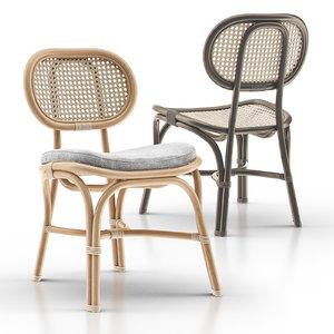 marte bistro chair 3D