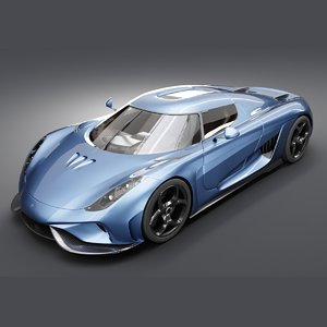 koenigsegg regera car 3D model