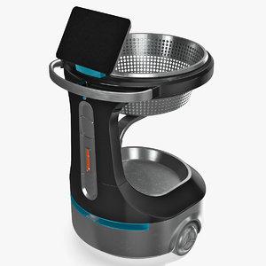 autonomous smart shopping cart model
