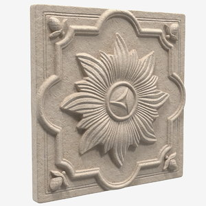 3D provence wall plaque