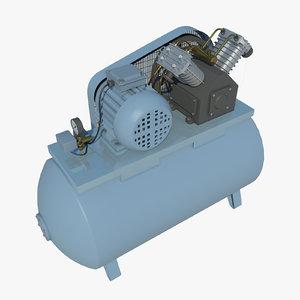 compressor tools industrial 3D