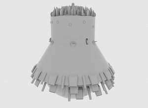 3D model steamboy print
