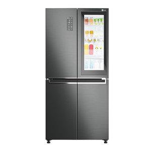 refrigerator lg gc-q22ftbkl 3D model