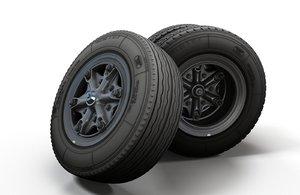 truck wheel rim tire model