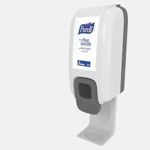 3D sanitizer dispenser model