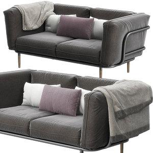 urban sofa cane line 3D model