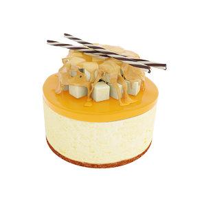 3D model cake pear