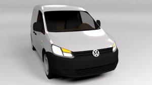 3D volkswagen 2011 model