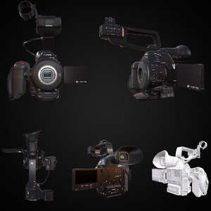 3D canon eos c100 mark