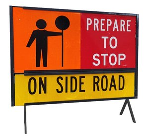 prepare stop road sign 3D model