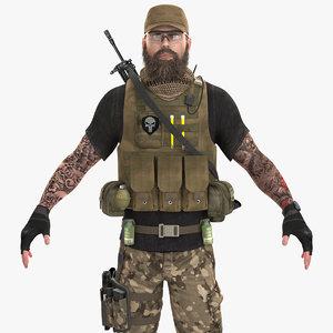 mercenary pbr 2020 model