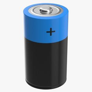 3D model battery d
