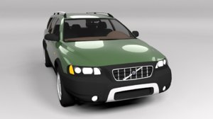 xc70 crosscountry 3D model