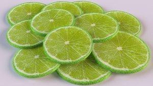 3D lime ice slice model