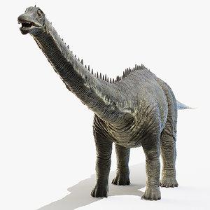 diplodocus 3D model