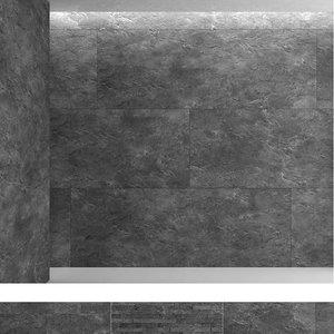 black slate 1 3D model