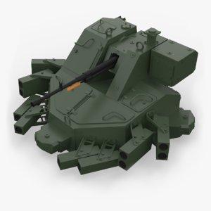 3D turret kord 12