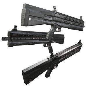modern utas uts-15 shotgun 3D model