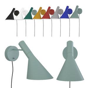 3D wall lamp aj louis poulsen