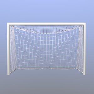 3D futsal goal model