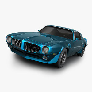 pontiac firebird 1970 3D model