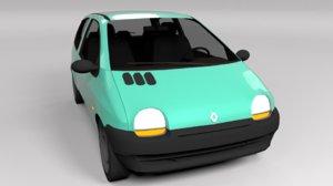 renault twingo 1993 3D